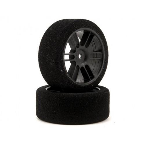 Enneti - 1/10  Carbon Rear (30mm) Foam Tire Set (Shore 37)