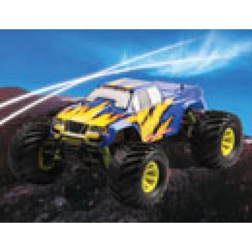 FS-Racing 1/10 Nitro Electric Monster Truck (FS-51805) + Free TM Starter Kit (As is no warranty)