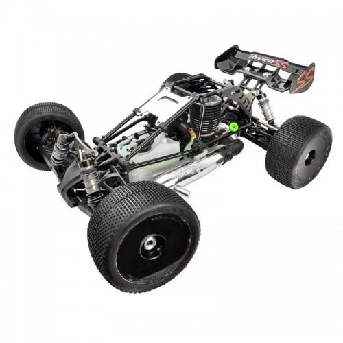 """Hyper Cage Truggy Nitro RTR(Black) w/  Engine H3032T & Glow Plug P5 Turbo, 14kg Servos, 2.4G (""""HB-CT-C30B"""")"""
