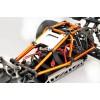 """Hyper Cage Truggy Nitro RTR (Orange) w/  Engine H3032T & Glow Plug P5 Turbo, 14kg Servos, 2.4G (""""HB-CT-C30RG"""")"""
