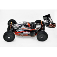"Hyper SS Nitro RTR w/H-2802T & Turbo Plug 14kg servos 2.4G (Black) (""HB-SS-C28B"") - As Is No Warranty"