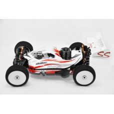 "Hyper SS Nitro RTR w/H-2802T & Turbo Plug 14kg servos 2.4G (White) (""HB-SS-C28W"") - As Is No Warranty"