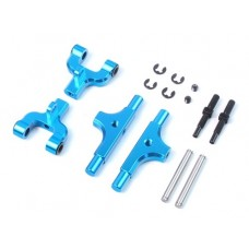 Yeah Racing Aluminum Rear Upper Arm for Tamiya TT01 / TT01E (Adjustable Camber Function) (TTR-124BU)