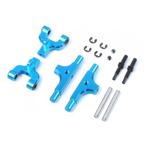 Yeah Racing Aluminum Rear Upper Arm for Tamiya TT01 / TT01E (Adjustable Camber Function) (TTR-124BU)
