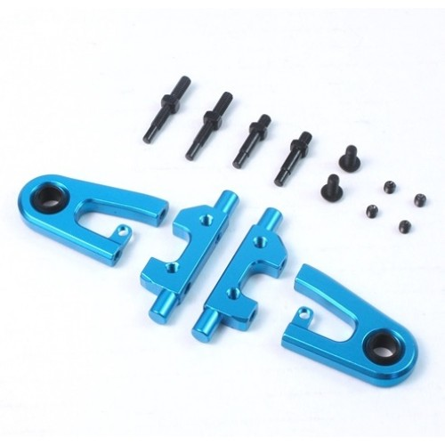 Yeah Racing Aluminum Front Upper Arm for Tamiya TT01 / TT01E (Adjustable Camber Function) (TTR-125BU)