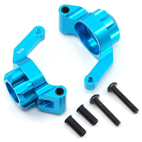 Yeah Racing (#TATT-005BU) Aluminum Rear Hub Knuckle Arm 3 Degree For Tamiya TT02B