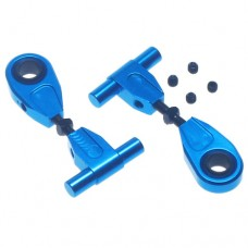 Yeah Racing Aluminum Adjustable Front Upper Arm Set For Tamiya TT02 #TT02-003BU