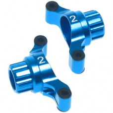 Yeah Racing Aluminum Rear Hub/Knuckle Arm 2 Degree For Tamiya TT02 #TT02-007-2BU