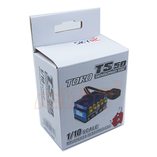 SkyRC Aluminum TORO TS50A Brushless Sensored ESC For 1/10 RC #SK-300060-01