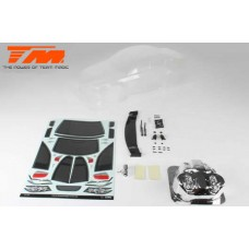 K-Factory 320 Touring Car Body (Clear , 190mm)