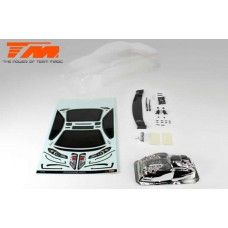 K-Factory S15 Touring Car Body (Clear , 190mm)