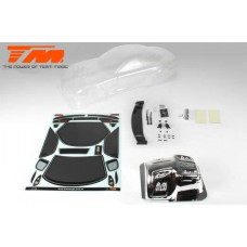 K-Factory RX7 Touring Car Body (Clear , 195mm)