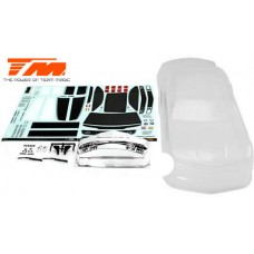 K-Factory CMR Touring Car Body (Clear , 195mm)