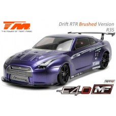 TeamMagic - E4D MF Drift Car Silver Ver. RTR-GTR