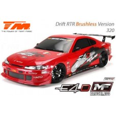 TeamMagic - 1/10 E4D S15 Touring car Drift Spec 6.5T Brushless