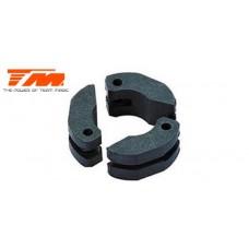 Team Magic Clutch Shoe Set - Teflon (3 pcs) - TM-181603
