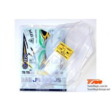 Body - 1/8 Buggy - Clear - M8JS - 560305