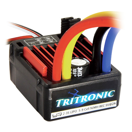 (#ESC-1060WP) TRITRONIC 1/10 Waterproof Brushed 60A ESC