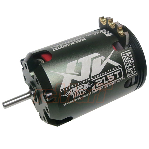 Yeah Racing Hackmoto XTA 21.5T 540 2010KV Brushless Sensored Motor #XTA-T215(As Is no Warrenty)