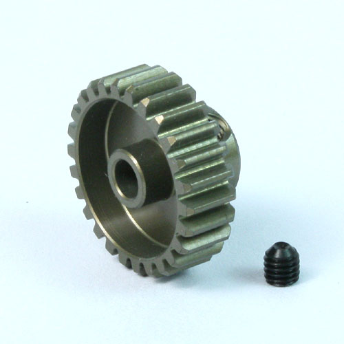 (#MG-64028) Aluminum 7075 Hard Coated Motor Gear/Pinions 64 Pitch 28 Teeth
