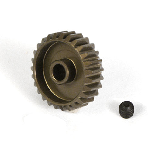 (#MG-06P21T) Aluminum 7075 Hard Coated Motor Gear/Pinions 06P 21T for Tamiya car kits