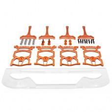 (#YT-0140OR) Universal Set Up System Ver.2 For 1/10 On Road Orange